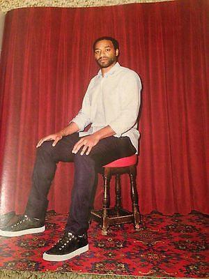 12 Years a Slave CHIWETEL EJIOFOR PHOTO INTERVIEW UK WEEKEND MAGAZINE 2015