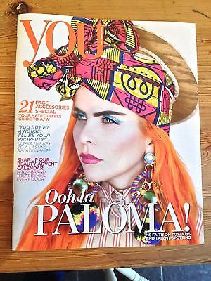 You Magazine (October 2013) Paloma Faith Jayma Mays Laura Welsh Louise Minchin
