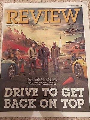 UK Express Review March 2017 Top Gear Matt LeBlanc Chris Harris Rory Reid