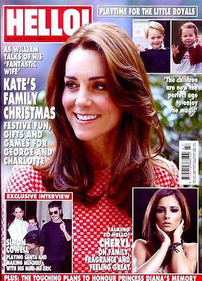 UK Hello! magazine - November 2016 Kate Middleton Prince George Family Christmas