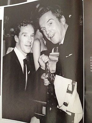 TOM HIDDLESTON Benedict Cumberbatch JAMES MCAVOY UK PHOTO THEATRE MAGAZINE 2014