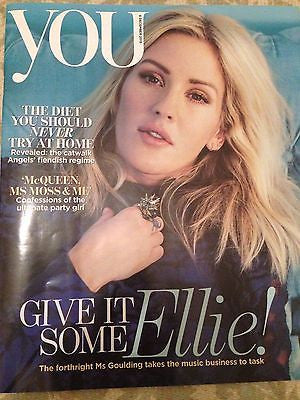 ELLIE GOULDING Photo Cover YOU Magazine 12/2015 ANNABELLE NEILSON ROCHELLE HUMES
