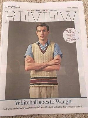 JACK WHITEHALL Photo Cover UK Telegraph Interview March 2017 - Bob Dylan