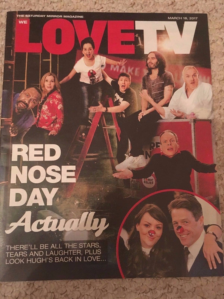 WE LOVE TV Magazine March 2017 Jo-Anne Knowles Thomas Brodie Sangster Al Murray