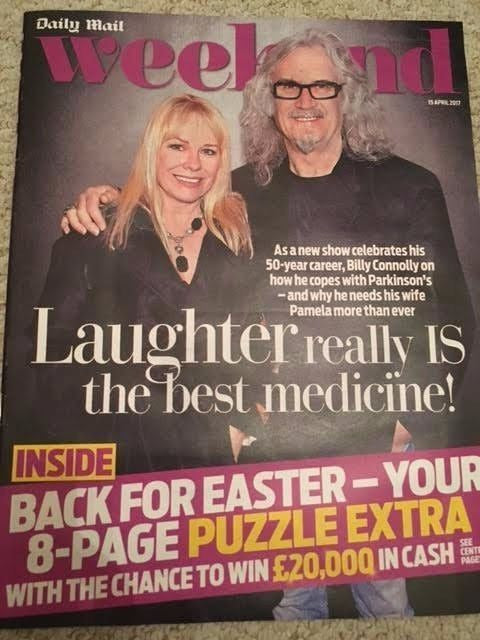Weekend MAGAZINE 04/2017 BILLY CONNOLLY Daniel Mays LEE RYAN Mary Nightingale