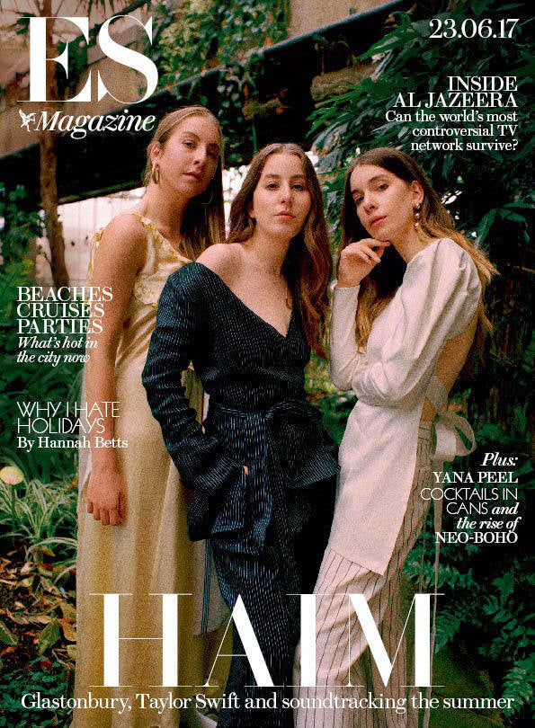 ES Magazine - Haim Cover And Interviews - One Day Publication Only