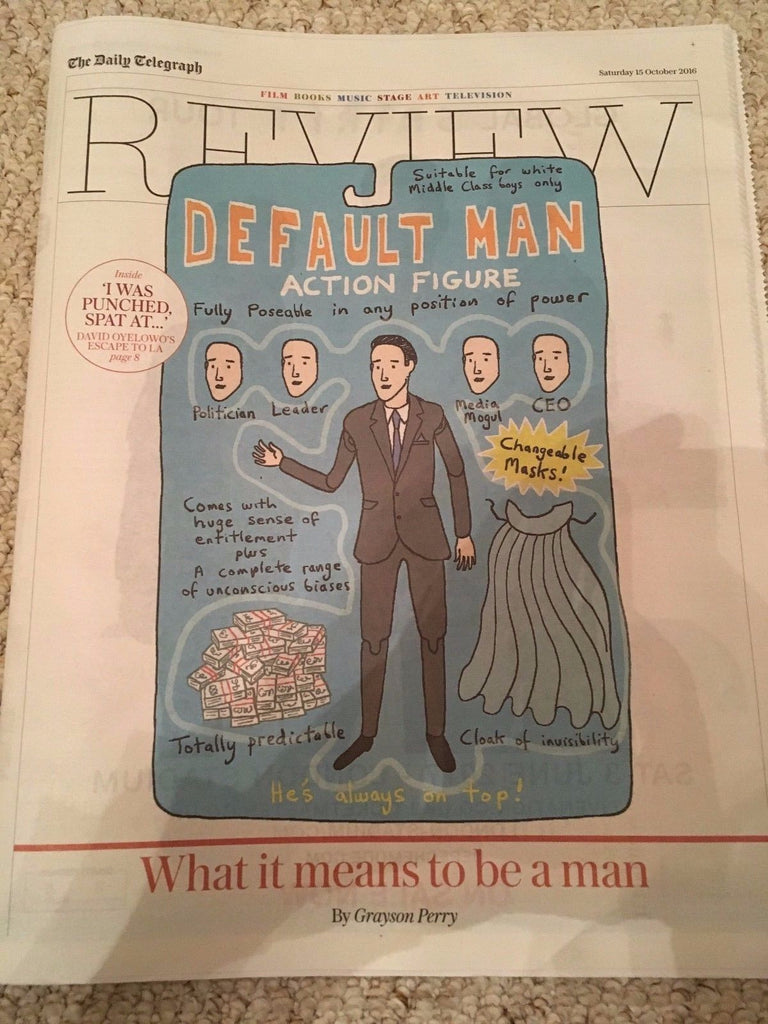 Telegraph Review October 2016 Grayson Perry DAVID OYELOWO Kings of Leon