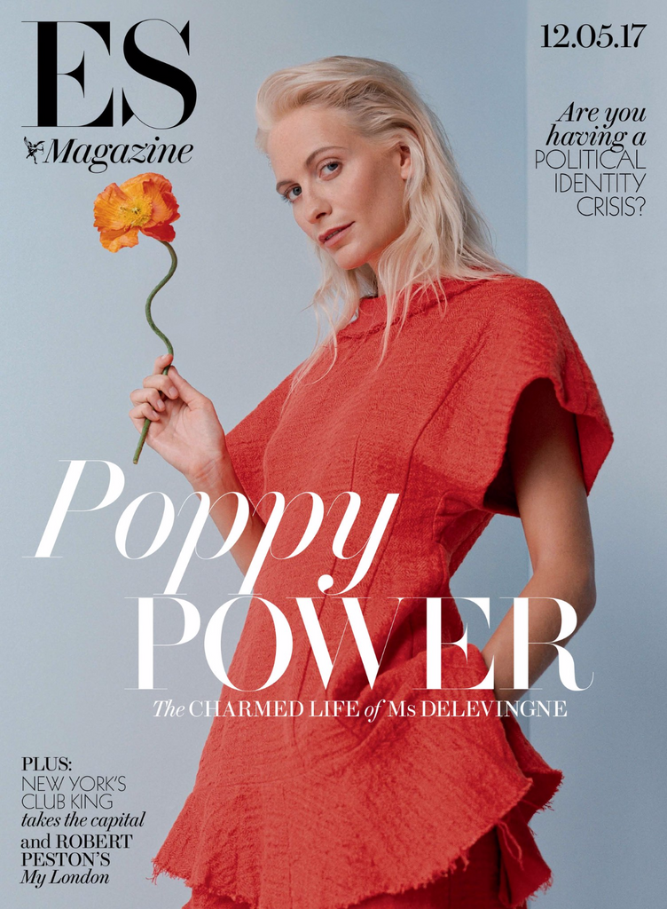 POPPY DELEVINGNE Isaac Carew Charlotte OC London ES MAGAZINE May 2017