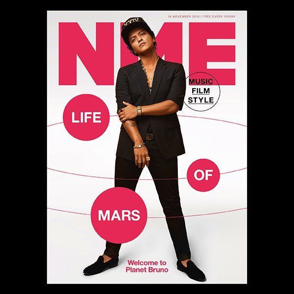 NME Bruno Mars Cover & Interview - 1Day Only Magazine - Leonard Cohen Carl Barat