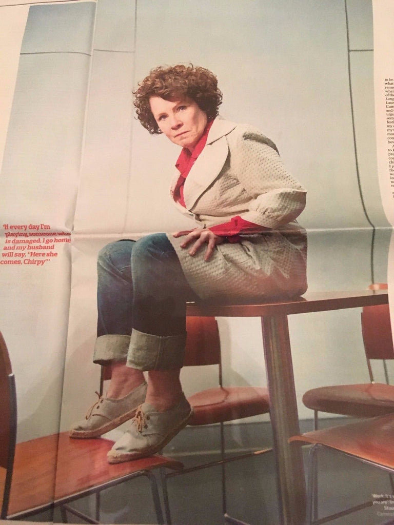 Observer New Review February 2017 Stormzy Kristin Scott Thomas Imelda Staunton