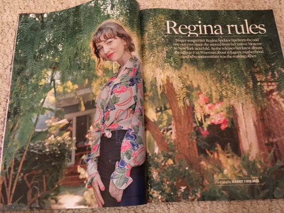 Regina Spektor Photo Interview UK Observer Magazine Nov 2016 - Freddie Mercury