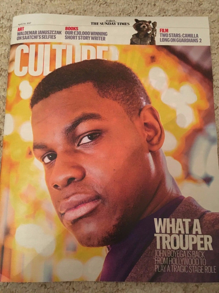 Culture Magazine April 2017 John Boyega James Arthur Elizabeth Strout Gorillaz
