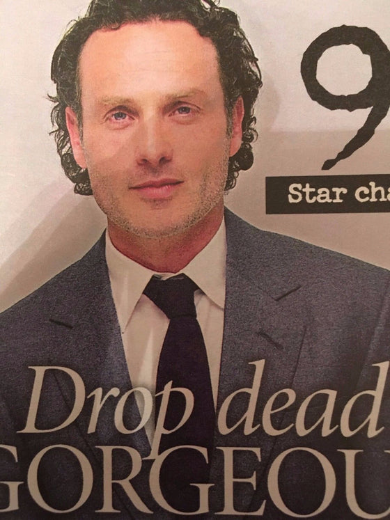 UK MAGAZINE OCT 2016 ANDREW LINCOLN PHOTO INTERVIEW MICHAEL BUBLE VAN MORRISON