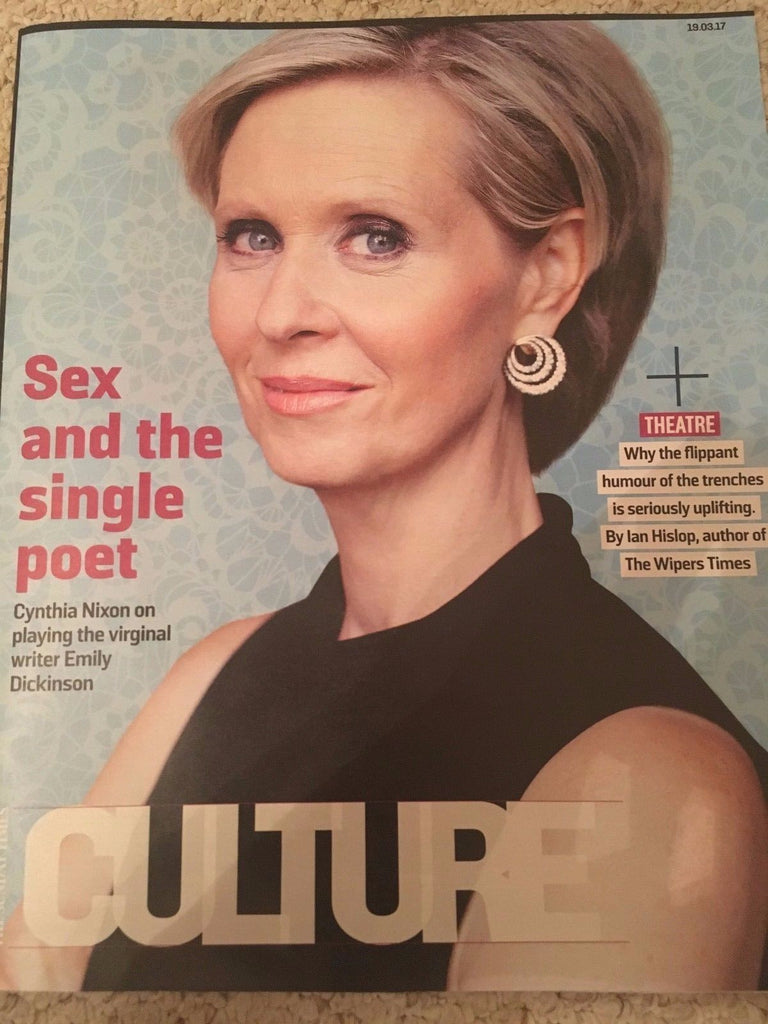 UK Culture Magazine March 2017 Cynthia Nixon Johnny Flynn Diana Vishneva