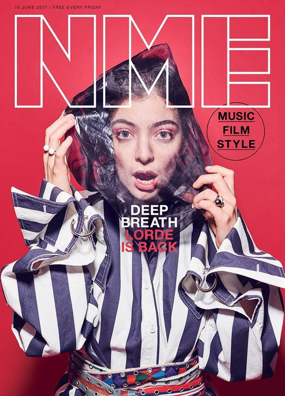 NME Magazine June 2017 - Lorde Photo Cover Interview - Lorde is Back!
