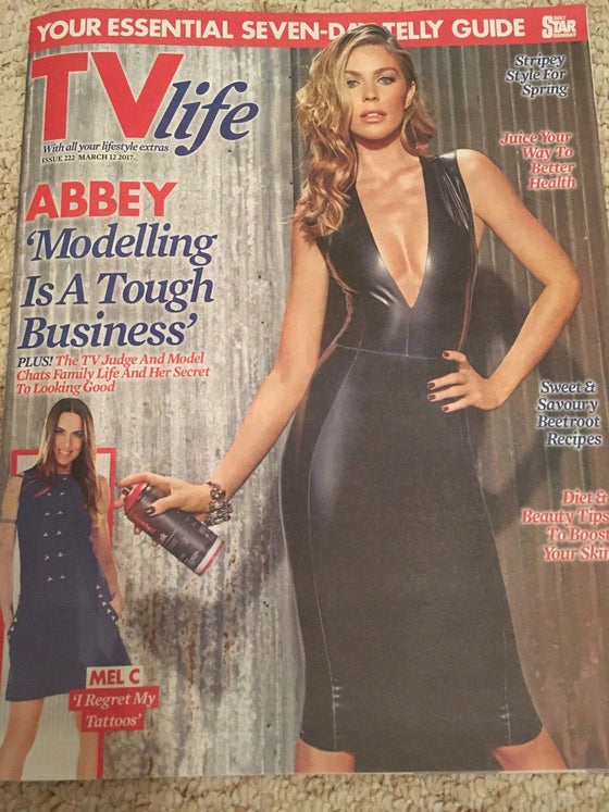 TV Life Magazine March 2017 Abbey Clancy Zoe Henry Melanie (Mel C) Rufus Hound