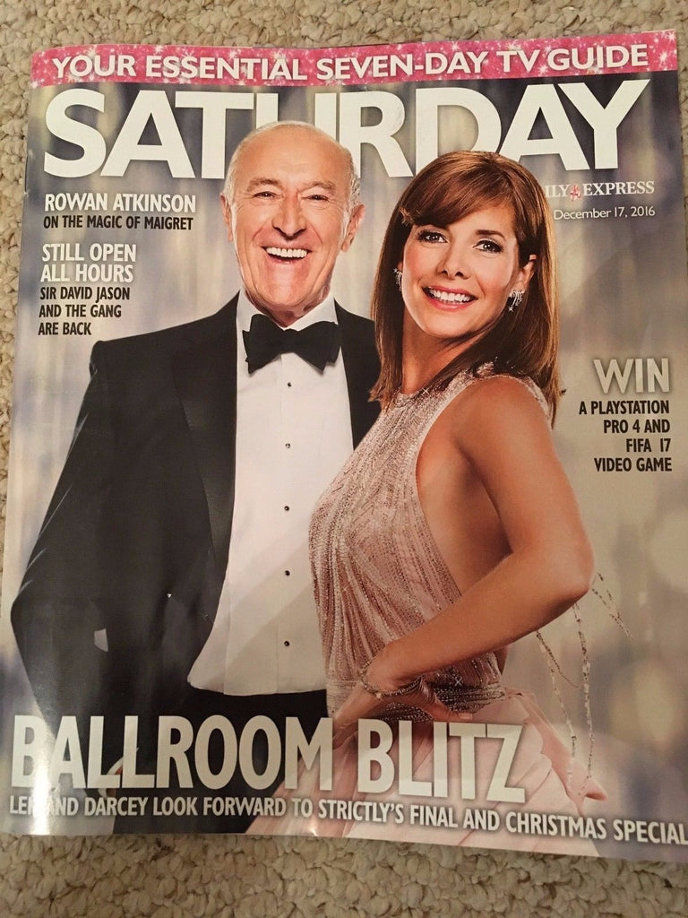 SATURDAY Mag 12/2016 Darcey Bussell Paul O'Grady Richard Dunwoody Claire Sweeney