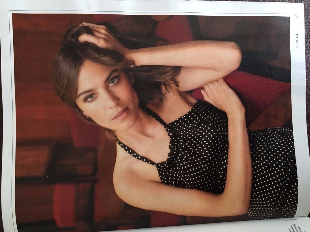 ALEXA CHUNG Helen Skelton Photo Cover interview UK STELLA MAGAZINE October 2016
