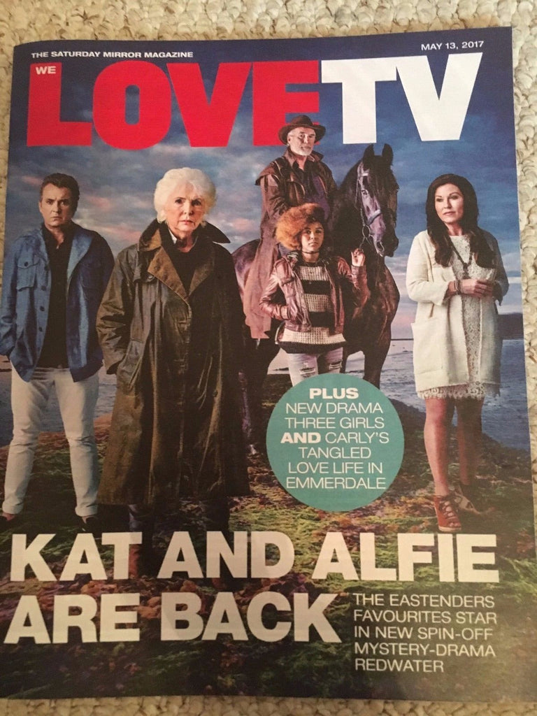 WE LOVE TV Magazine May 2017 Redwater Shane Richie Jessie Wallace Jill Halfpenny