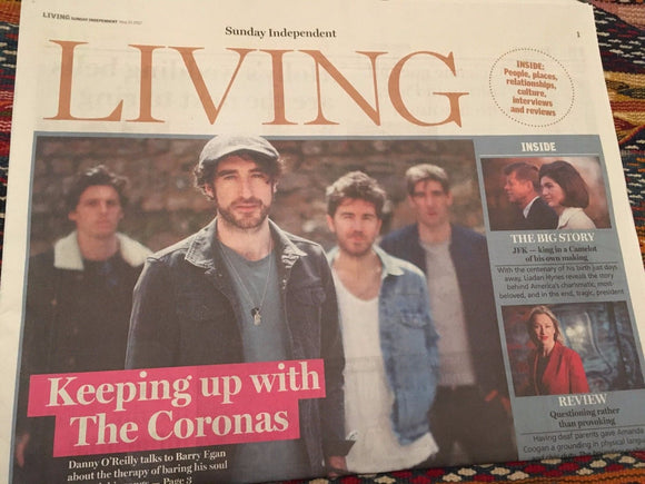 Irish Living Supplement May 2017 Danny O'Reilly The Coronas Paul Weller JFK