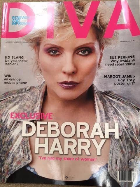 DIVA MAGAZINE / DEBORAH HARRY / BLONDIE 2004