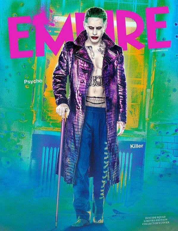 Empire Magazine December 2015 Jared Leto SUICIDE SQUAD Joker PHOTO COVER NEW