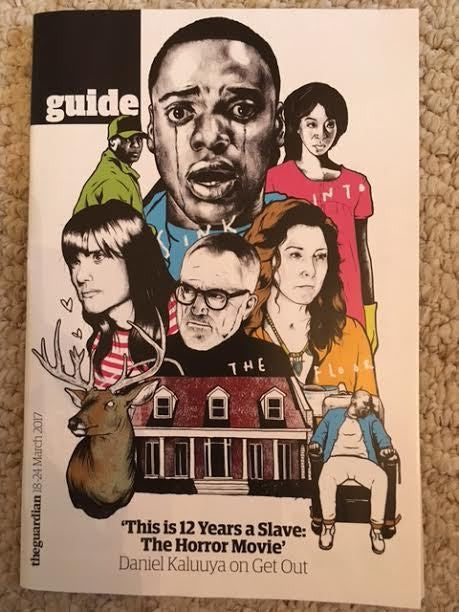 UK Guide Magazine March 2017 Daniel Kaluuya Photo Cover Interview on Get Out