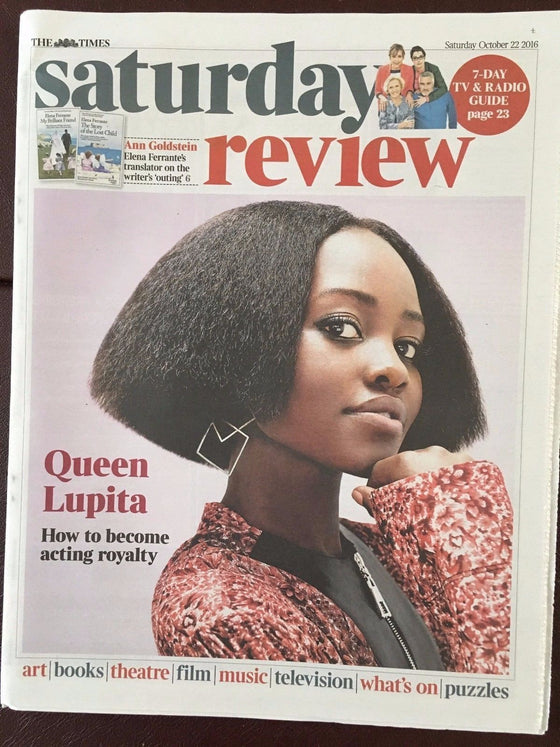 LUPITA NYONG'O Photo Interview Times Review October 2016 NEW - ALAN BENNETT