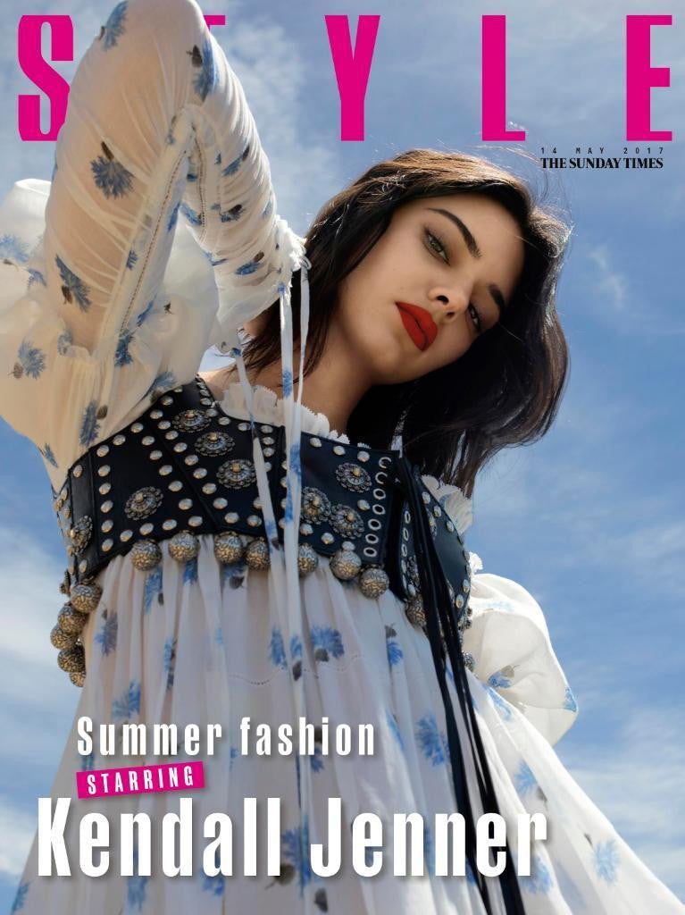 KENDALL JENNER - Cover Story The Sunday Times Style UK magazine 14th May 2017
