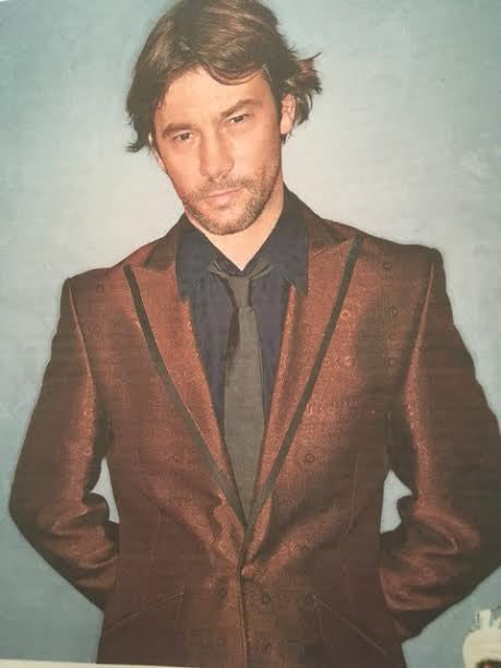 JAMIROQUAI Jay Kay UK Times Photo Interview April 2017 - Chris Packham Cover