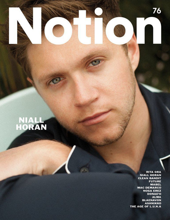 NIALL HORAN - Exclusive Interview Notion UK magazine Issue 76 NEW
