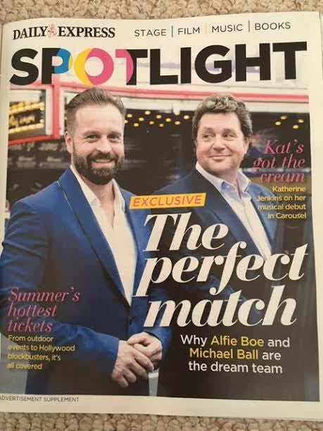 SATURDAY Magazine 3/2017 ALFIE BOE Michael Ball Katherine Jenkins Angela Scanlon