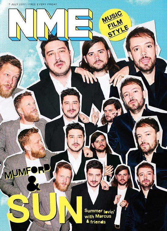 NME Magazine 7th July 2017 Mumford And Sons Cover Interview