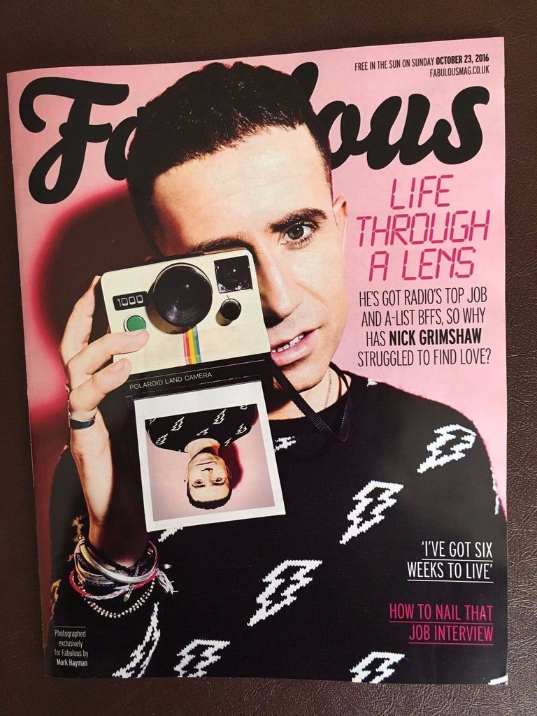 FABULOUS Magazine October 2016 NICK GRIMSHAW Photo Cover Interview