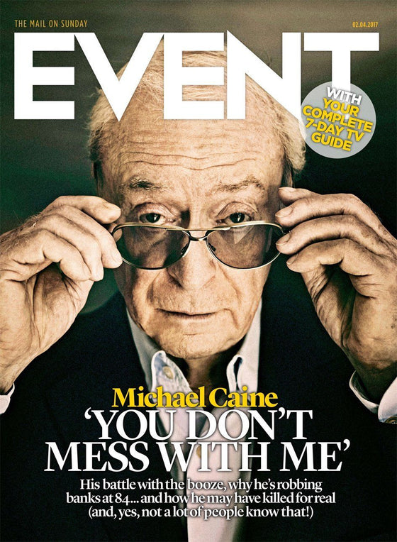 UK Event Magazine April 2017 Michael Caine The Durrells Ed Sheeran Keeley Hawes