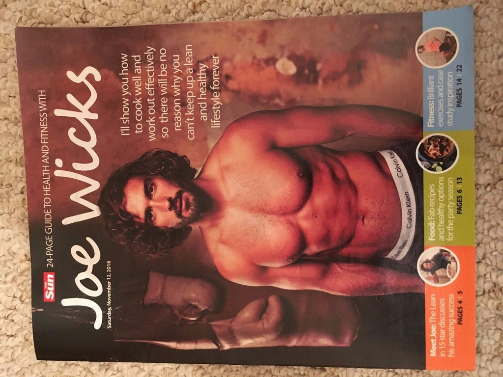 Joe Wicks A Guide To Health And Fitness Magazine 24 page Special - November 2016