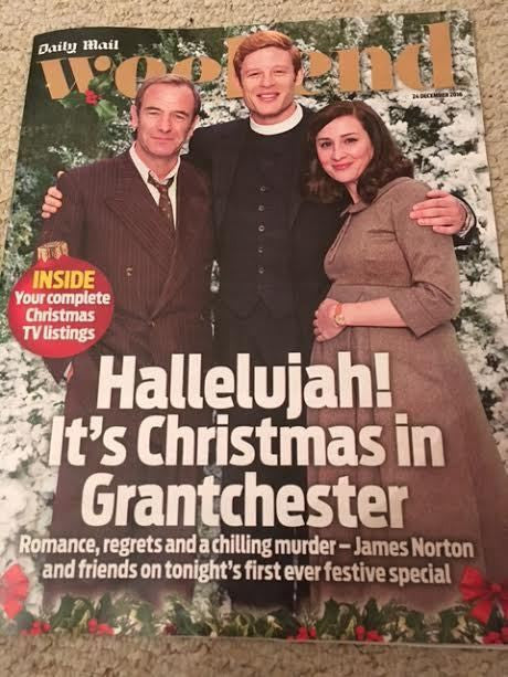 WEEKEND MAGAZINE 12/2016 ROBSON GREEN James Norton GRANTCHESTER David Suchet
