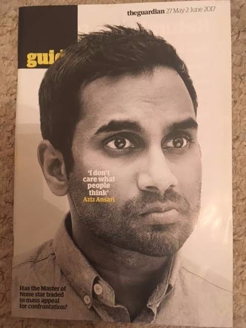 UK Guardian Guide Magazine May 2017 Aziz Ansari Matthew Rhys Katy Perry