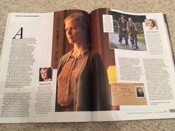 UK Stella Magazine March 2017 Shailene Woodley Jenny Seagrove Amanda Abbington