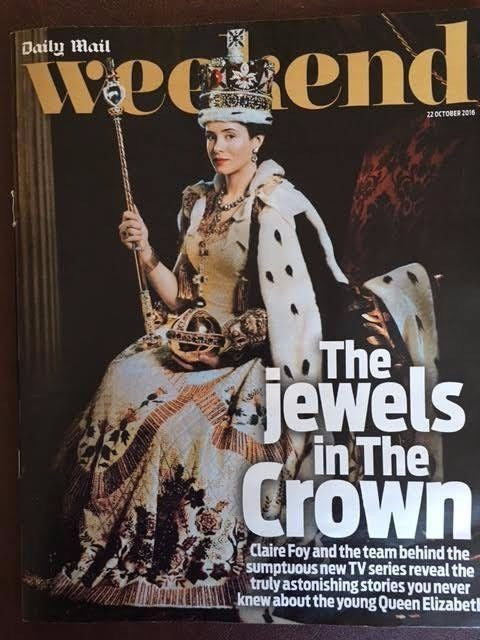 WEEKEND MAGAZINE 2016 CLAIRE FOY Jeremy Northam VIRGINIA MCKENNA Chris Packham