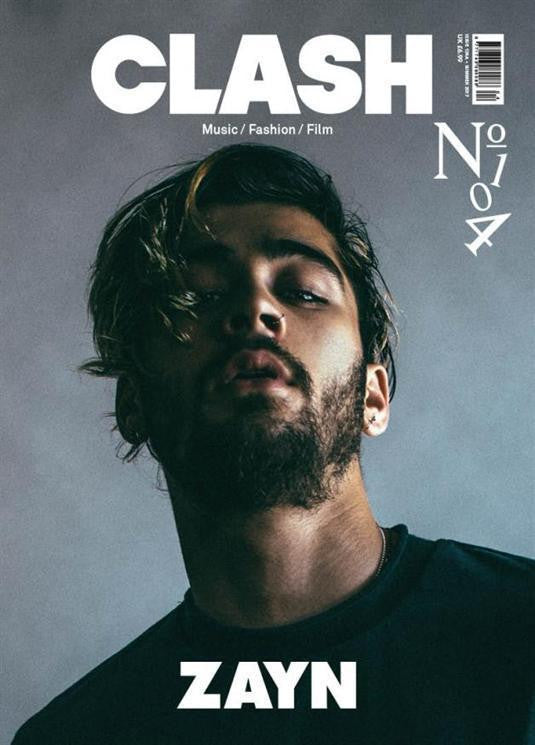 One Direction ZAYN MALIK PHOTO COVER INTERVIEW UK CLASH MAGAZINE ISSUE 104 NEW