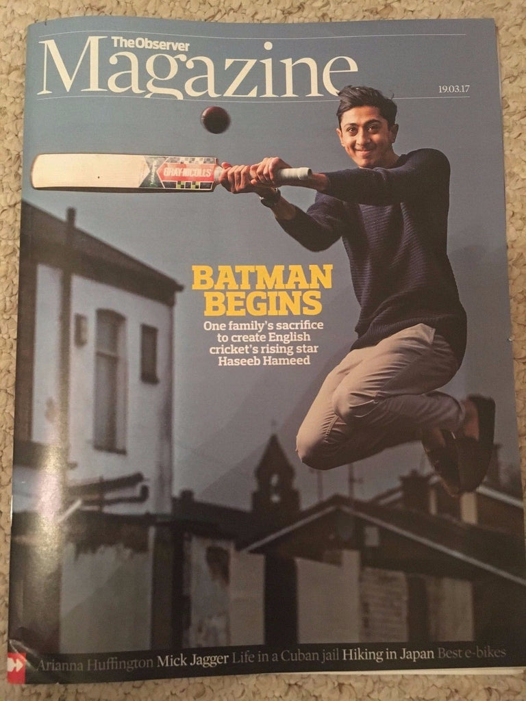 Observer Magazine March 2017 Haseeb Hameed Mick Jagger Arianna Huffington