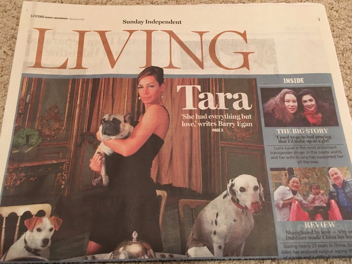 Independent Living Feb 2017 Tara Palmer Tomkinson Simple Minds Annette Bening