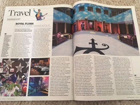 PRINCE Paisley Park Romola Garai Interview UK Observer Magazine April 2017