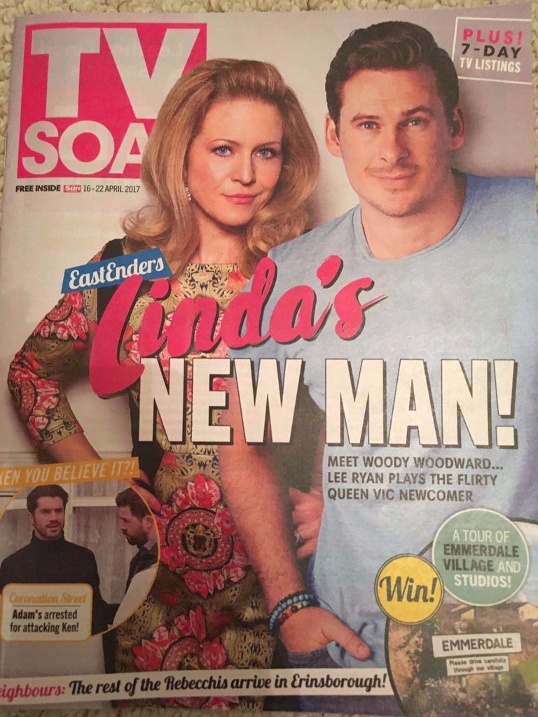 TV SOAP MAGAZINE 16 APRIL 2017 KELLIE BRIGHT LEE RYAN SAM ROBERTSON