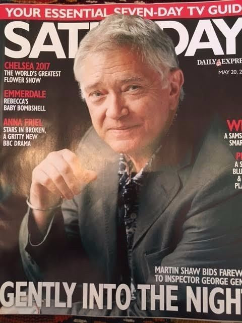 SATURDAY Magazine 05/2017 MARTIN SHAW Eleanor Tomlinson ED WESTWICK Anna Friel