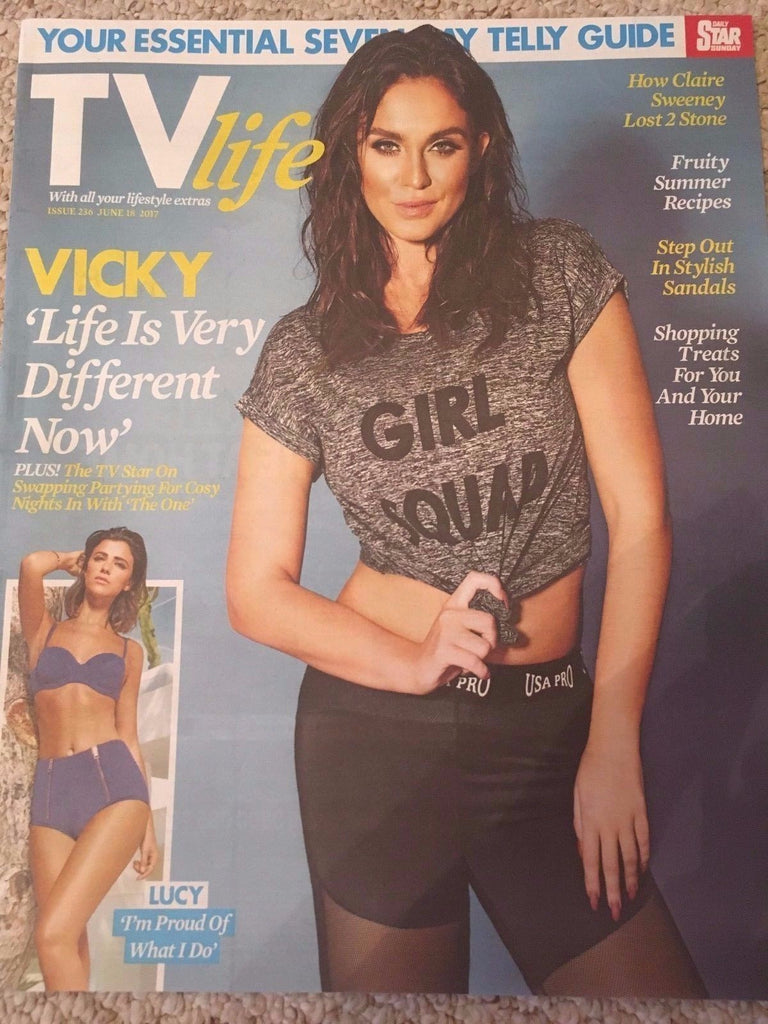 TV Life Magazine June 18 2017 Vicky Pattison Claire Sweeney Aidan Keane