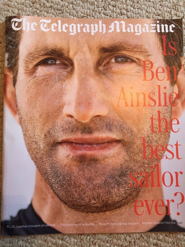 UK Telegraph Magazine May 2017 Ben Ainslie Phyllida Barlow