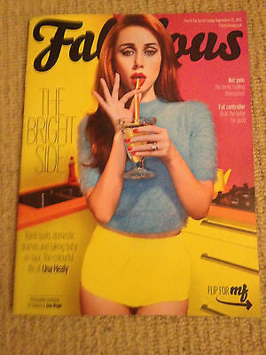 UK Una Healy Interview New Fabulous Magazine Dizzee Rascal Greg James Thom Evans
