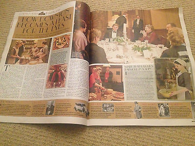 NEW WEEKEND MAGAZINE GLYNIS BARBER MICHAEL BRANDON JENNY AGUTTER DOWNTON ABBEY